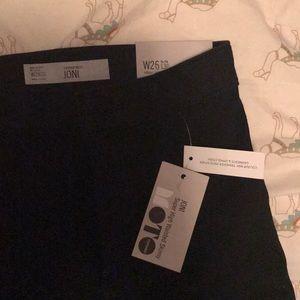 Topshop moto Joni jeans black BNWT size 26 skinny